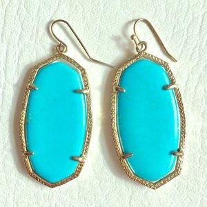 Kendra Scott Turquoise Elle Earrings